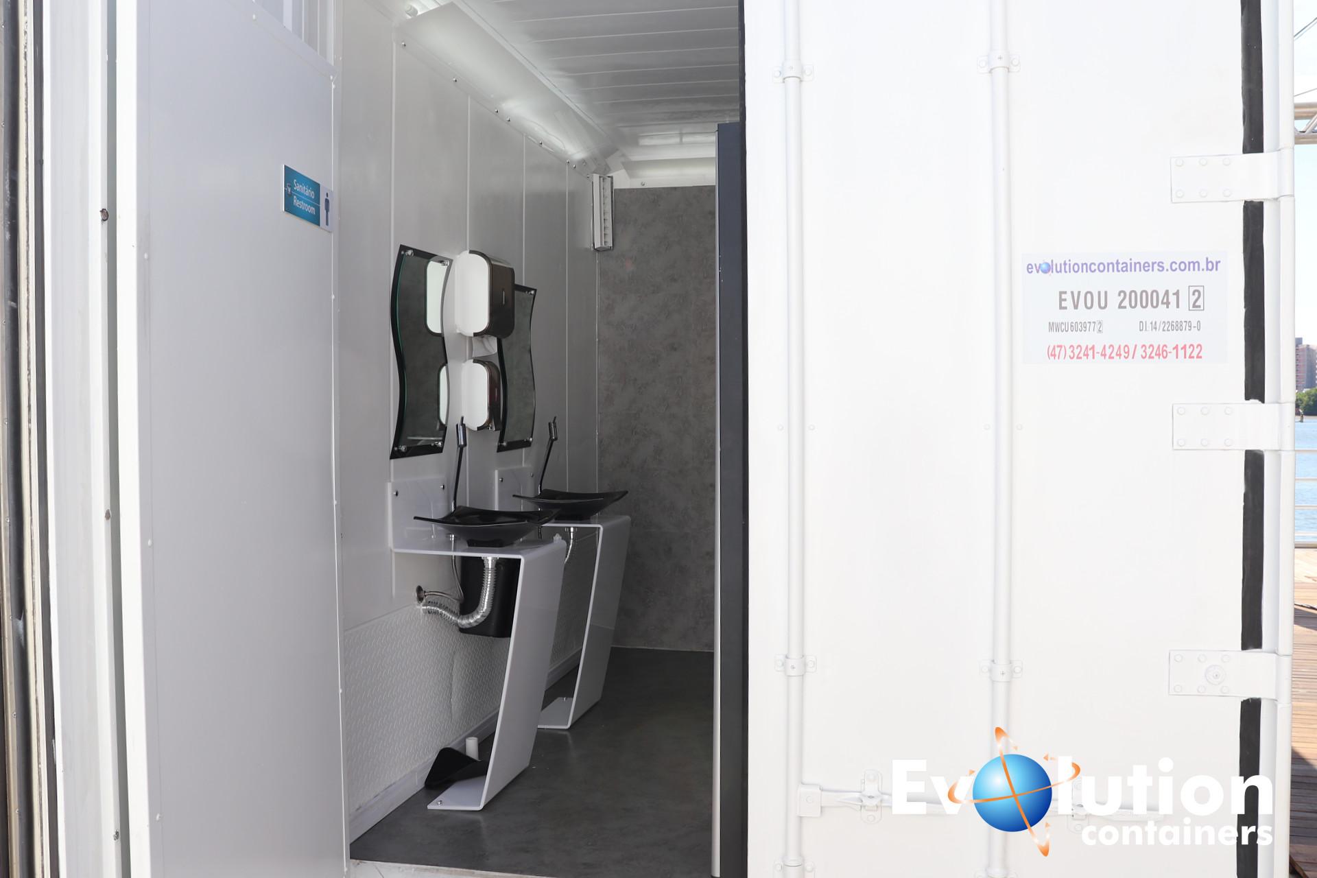 Banheiro em Container padrão Luxo