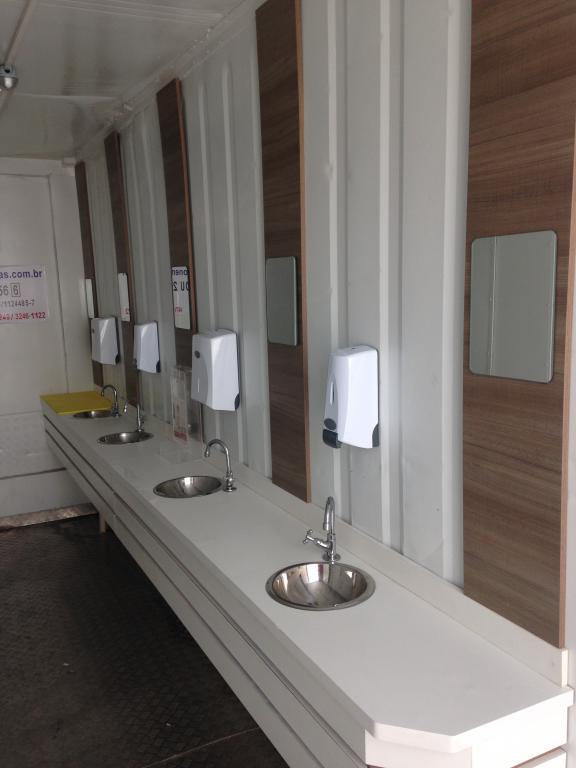 Banheiros em Container para Eventos