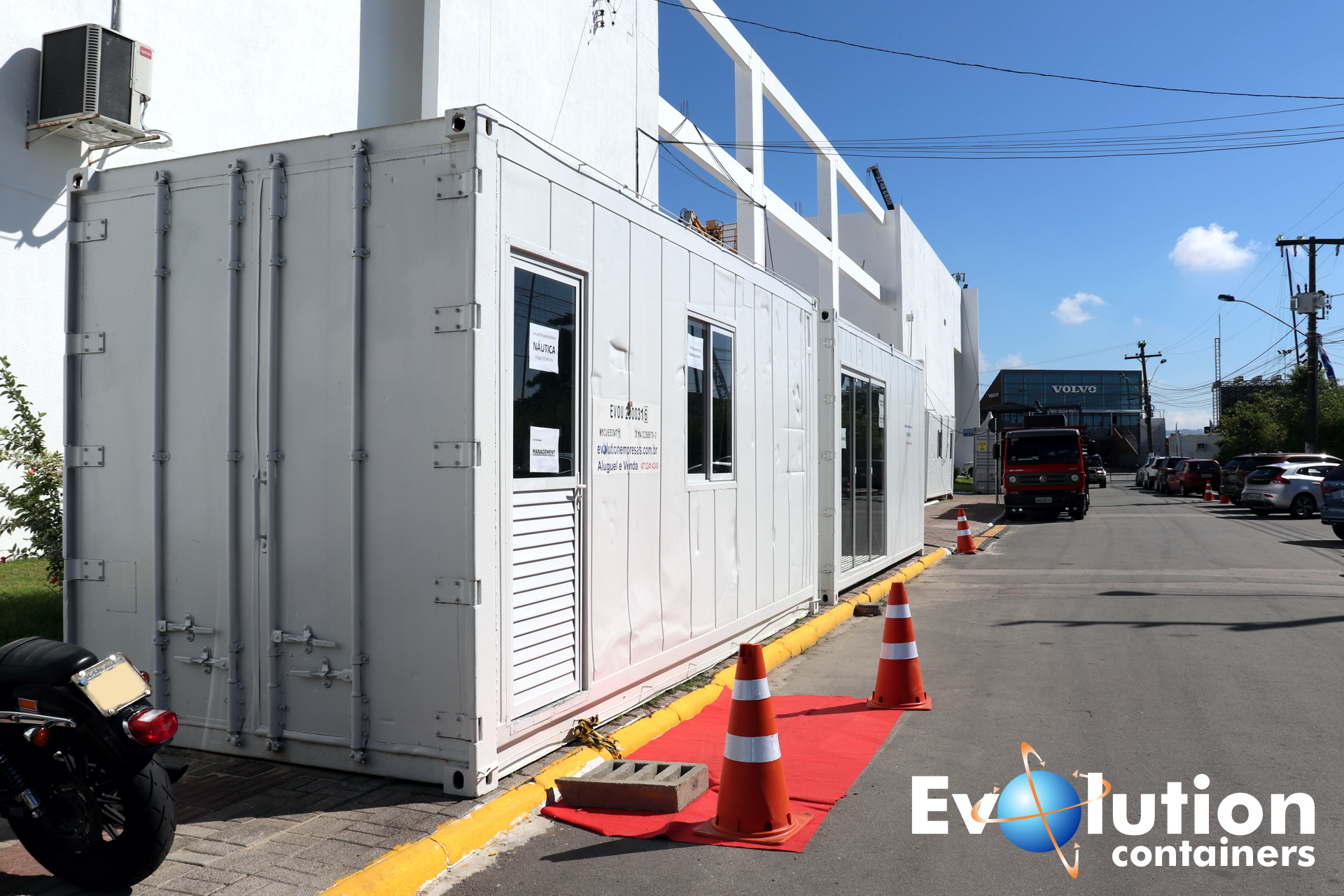#volvoocean #volvooceanrace #volvoitajai2018 #evolutioncontainers #containers