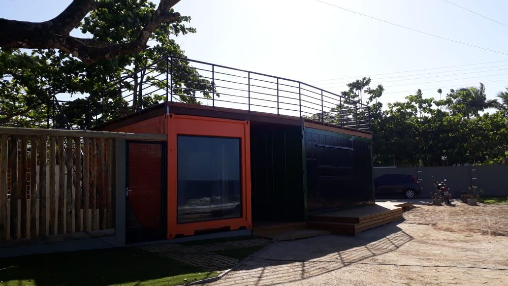 container quiosque praia aramacao santa catarina