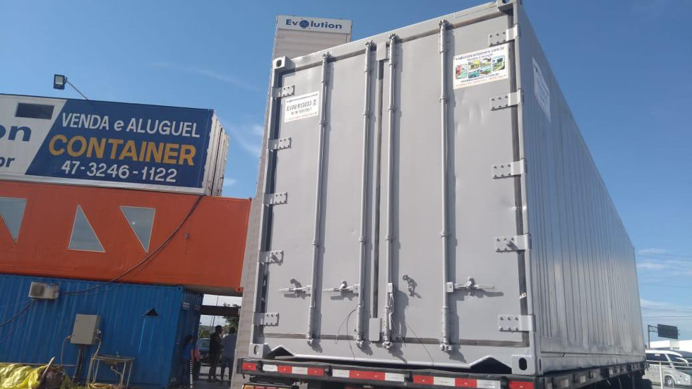 Container Reefer 40 Maquinario Scroll King Alimentos - Evolution Containers